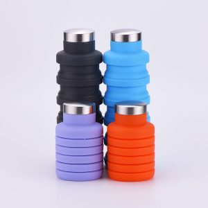 Silicone Collapsible Travel Bottle
