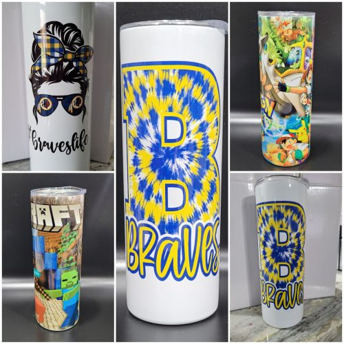 25-Pack 20oz Sublimation Skinny Tumbler photo review